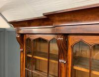 William IV Mahogany Breakfront Bookcase (4 of 15)