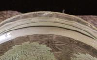 Antique Victorian Pale Green Oil Lamp Shade (6 of 6)