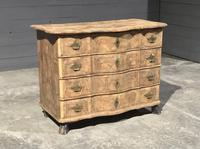 Early 19th Century Bleached Walnut Commode Chest of Drawers (6 of 13)