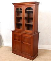 Teak Glazed Library Bookcase (6 of 11)