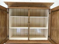 Antique Pine Cupboard with Drawers (6 of 11)