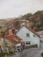 Oil on Canvas Cornish Seascape Artist M M Tomlinson (3 of 10)