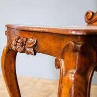 Victorian Carved Back Chair (4 of 9)