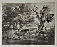 Original Print by & After Thomas Gainsborough, One of a Limited 1971 Edition of 75 (4 of 7)