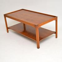 Antique Georgian Style Large Yew Wood Coffee Table (7 of 8)