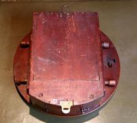 Mahogany 10' Fusee Dial Clock (5 of 12)