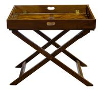 Early 19th Century Rectangular Drop Sided Butler's Tray (9 of 9)