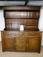 Neat 18th Century Oak Dresser (10 of 10)