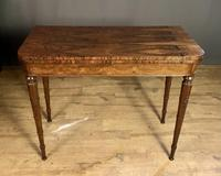 Superb French Rosewood Fold-over Top Card Table (3 of 14)