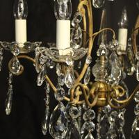 French Gilded Birdcage Antique Chandelier (5 of 10)