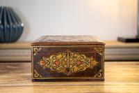 Decorative Leather Box 1870 (4 of 10)