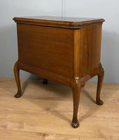 Shaped Walnut Three Drawer Table - Waring & Gillow (5 of 12)