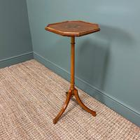 Unusual Victorian Satinwood Jardinière / Side Table (2 of 8)