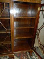 Mahogany Breakfront Bookcase (6 of 6)