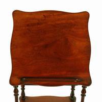 Victorian Mahogany Whatnot Music Stand (7 of 8)