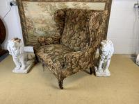 19th Century Two Seat Wingback Settee (3 of 8)