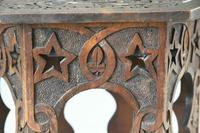 Moorish Chip Carved Octagonal Occasional Table (9 of 13)