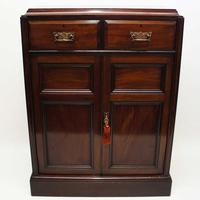 Victorian Mahogany  Shelved Hall Cupboard (3 of 15)