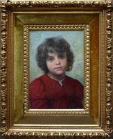 Wenzel Ulrik TORNÖE Portrait of an Italian Boy