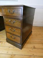 Neat 18th Century Partners Desk (6 of 15)