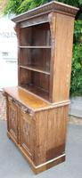 1900's Large Carved Oak Bookcase with Good Carving (5 of 6)