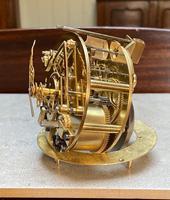 French Louis XVI Style Parcel-Gilt Bronze Mantel Clock (15 of 18)