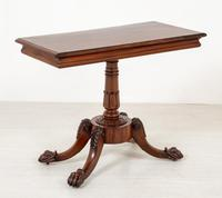 William IV Mahogany Side Table (2 of 6)