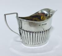 Antique Solid Silver Milk Cream Jug (9 of 9)