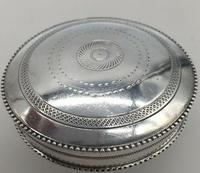 Superb French Silver Pill Trinket Box Early 20th Century Paris Hallmark