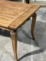 French Oak Farmhouse Kitchen Dining Table (13 of 18)