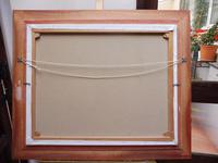 Large Oil on Canvas Marine Seascape Listed Artist Bill Haines (7 of 13)