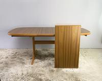 1970's Danish Long Walnut Dining Table by Skovby (4 of 7)