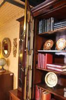 George 3 mahogany breakfront bookcase library circa 1800 (2 of 9)