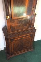 Fine English Longcase Clock John Fenton Congleton 8-day Striking Grandfather Clock Solid Mahogany Case (8 of 16)