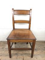 Antique Welsh Oak Farmhouse Chair (5 of 8)