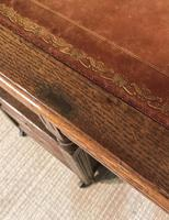 Victorian Oak Aesthetic Movement Desk (11 of 18)