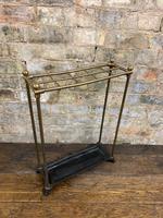 Brass & Steel Umbrella Stand