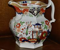 19th Century Real Stone China Jug with Chinoiserie Decoration (3 of 11)