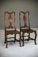 Near Pair of Queen Anne Style Side Chairs (10 of 12)