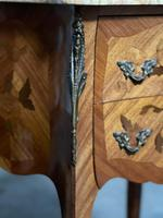 Quality Pair of French Marquetry Bedside Drawers (10 of 22)