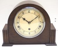 Fine Garrard Art Deco Mantel Clock 8 Day Westminster Chime Mantle Clock (3 of 11)