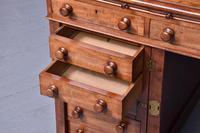 Victorian Mahogany Pedestal Kneehole Desk (7 of 9)