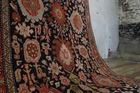 Extremely Long Early 20th Century Kuba Kelleh Corridor Carpet - Rug (10 of 11)