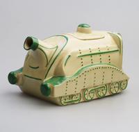 Extremely Rare Art Deco Sadler Mallard Train Pottery Teapot c.1930 (8 of 12)