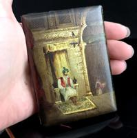 Antique Victorian Aide Memoir, Vernis Martin (11 of 13)