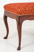 Pair of Mahogany Queen Anne Style Stools (2 of 6)