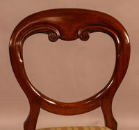 Set of 12 Victorian Mahogany Balloon Back Dining Chairs fully restored (4 of 11)