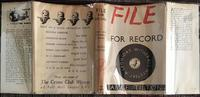 1944 File for Record by Alice Tilton  Phoebe Atwood Taylor 1st  Edition. (5 of 7)
