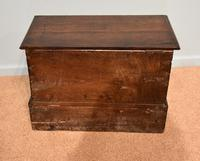 18th Century Welsh Oak Marriage Coffor Bach / Coffer (6 of 8)