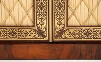 Amazing Rosewood and brass inlaid side cabinet (6 of 9)